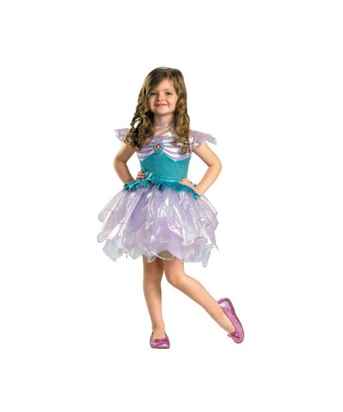 Girls Disney Ariel Little Mermaid Toddler Kids Costume