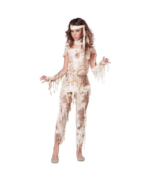 Mysterious Mummy Girls Teen Costume