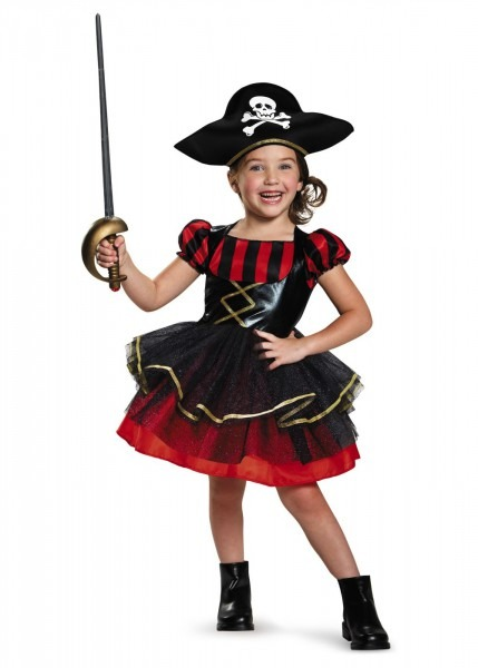 Precocious Pirate Baby Girls Costume