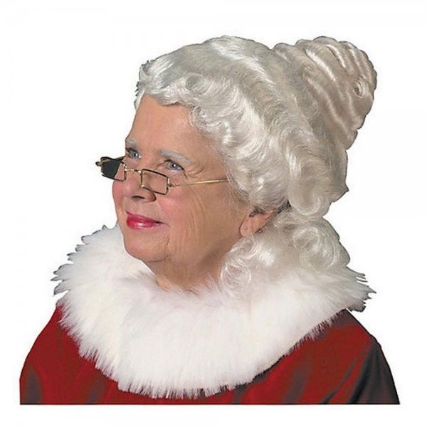 Halco Adult Beautiful Mrs  Claus Wig