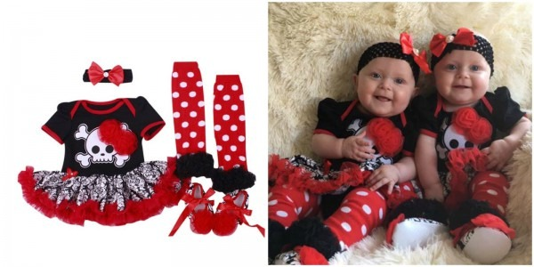 Baby Girl Pirate Costume & Little Ladybug Halloween Costume