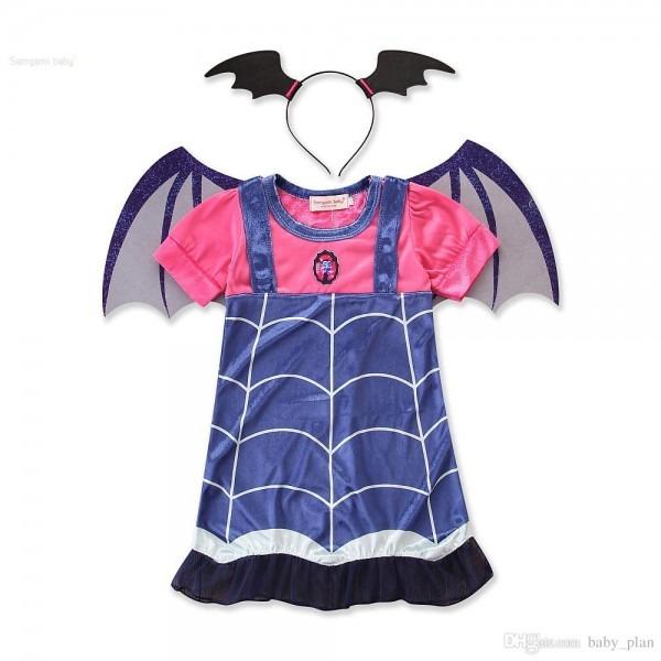 2019 Halloween For Kids Baby Girls Costume Children Vampire Witch