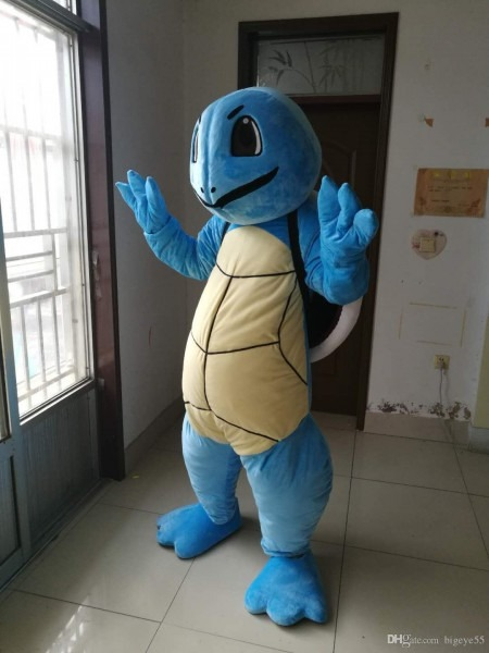 High Quality Real Pictures Squirtle Mascot Costume Fancy Carnival