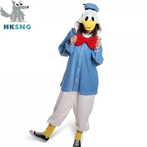 Hksng New Adult Animal Donald Duck Cosplay Costumes Daisy Duck