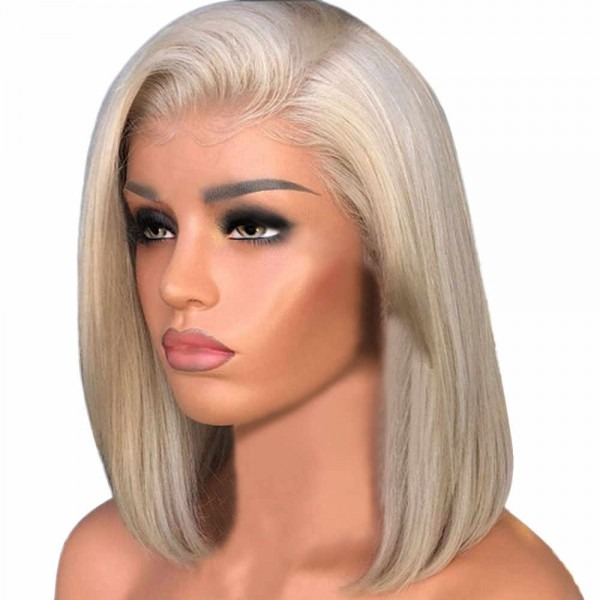 Detail Feedback Questions About Blonde Lace Front Wig Preplucked