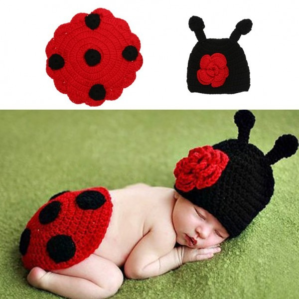 Baby Photography Props Newborn Baby Infant Cute Cotton Wool Knit