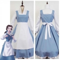 Belle Beauty And The Beast Costume Blue Dress