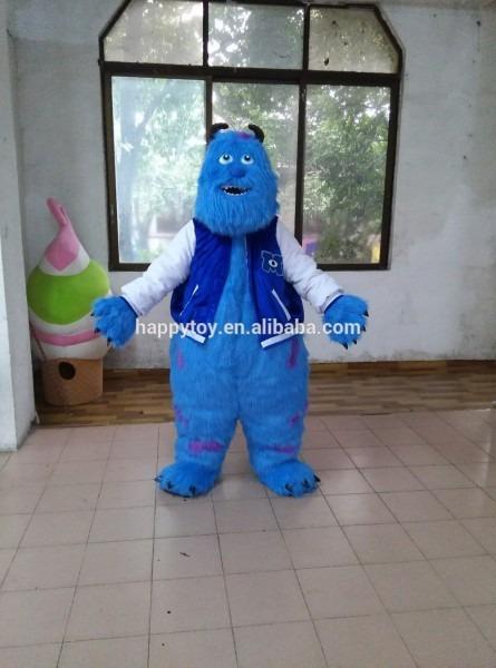 Halloween Monster University Cartoon Character Sully Mascot