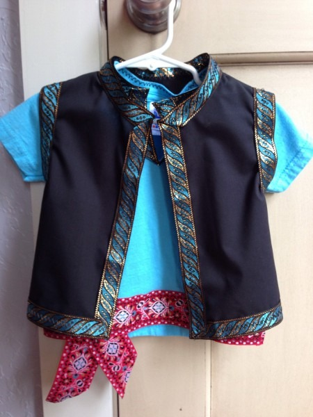 Child Frozen Fever Kristoff Costume