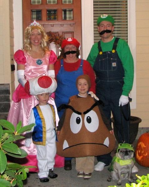 Super Mario Brothers Halloween Costumes  Mario And Luigi Costumes