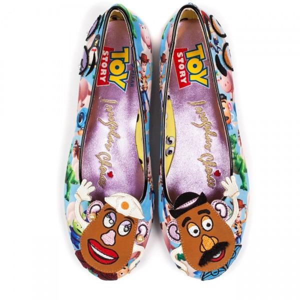Irregular Choice X Pixar Toy Story 'keep'em Together' Mr  Potato