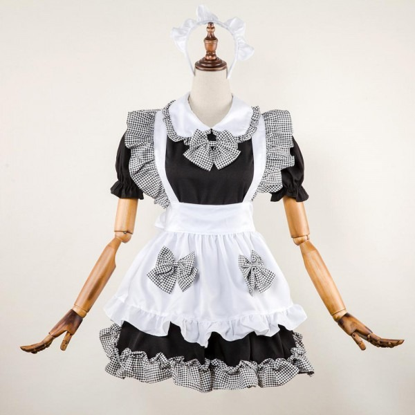2019 Japan Anime Girl Cute Maid Costume High School Student Outfit