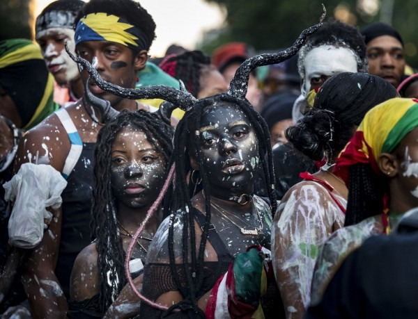 Caribbeat  Costumes Taking Center Stage At J'ouvert City