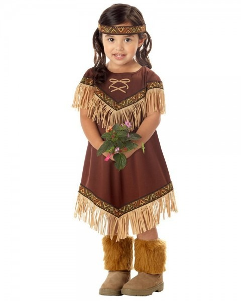 Lil Indian Girls Princess Costume
