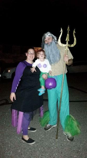Magical Little Mermaid Family Halloween Costume