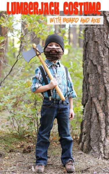 Halloween Costume Ideas  Lumberjack With Beard And Axe – Make It