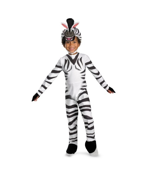 Madagascar 3 Marty The Zebra Kids Movie Costume