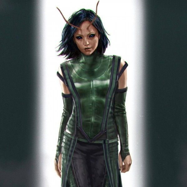 Guardians Of The Galaxy 2  Mantis And Drax Concept Art