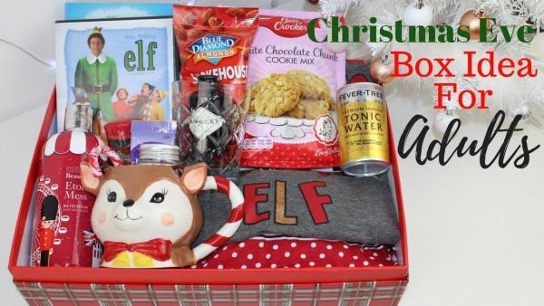 Adult Christmas Eve Box Idea Uk