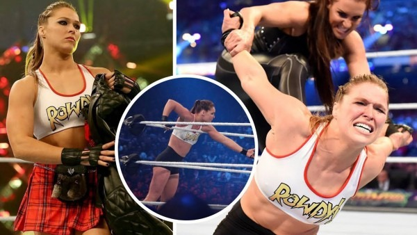 Ronda Rousey's New Wwe Wrestling Outfit 2018