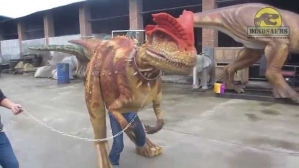 Halloween Realistic Dinosaur Costume Suit For Sale Dwe3324