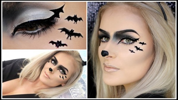 Easy Bat Makeup
