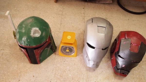 10  Iron Man Vs  Boba Fett  My Costume Helmet Review