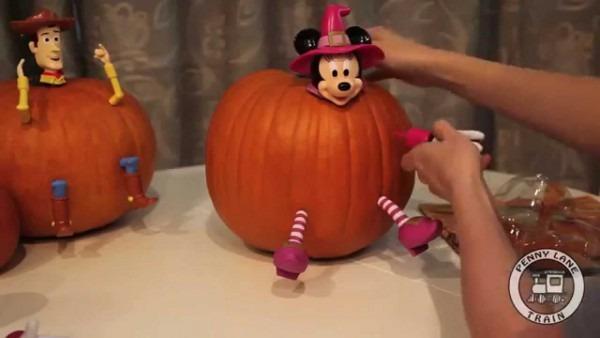 Disney Pumpkin Push