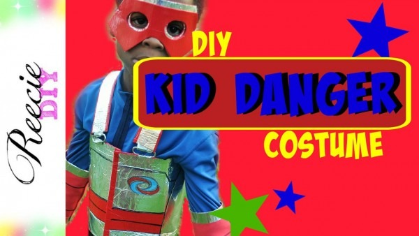 How To Make A Kid Danger Costume
