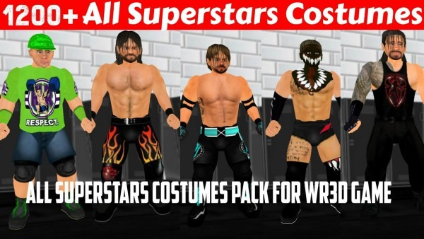 How To Download All Wwe Costumes Pack For Wwe 2k19 Mod Wr3d