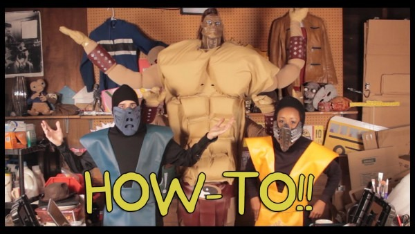 How To Make Mortal Kombat Costumes!