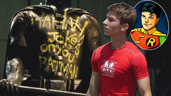 Zack Snyder's Son Rumored To Play Robin In Batman V Superman
