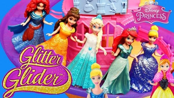 Magiclip Dolls Roller Coaster & Disney Princess Costume Dress Up