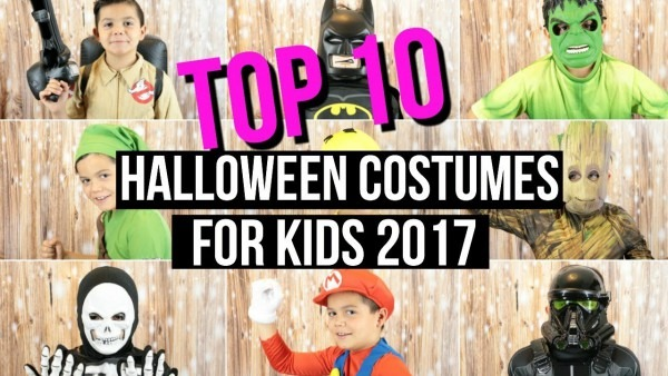 Top 10 Halloween Costumes For Kids 2017 + Try On