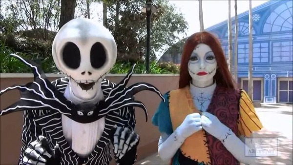 Nightmare Before Christmas Characters Jack And Sally