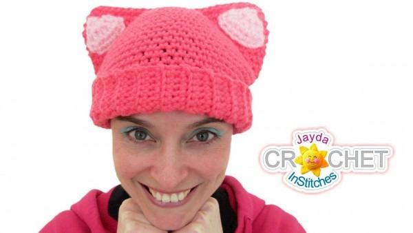 Cat Ears Hat Crochet Tutorial