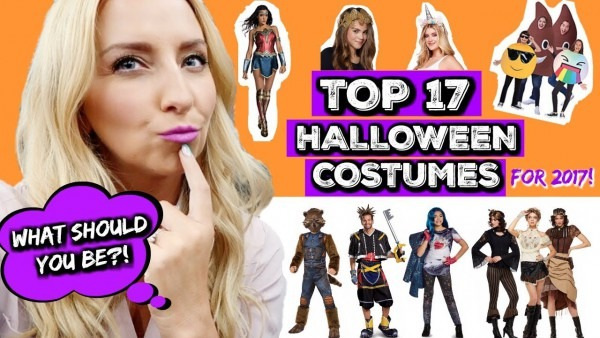Top 17  New  Halloween Costume Ideas For 2017 (kids, Teens