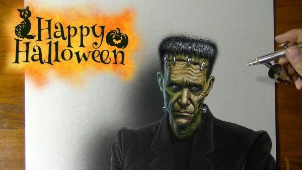 Drawing Frankenstein's Monster