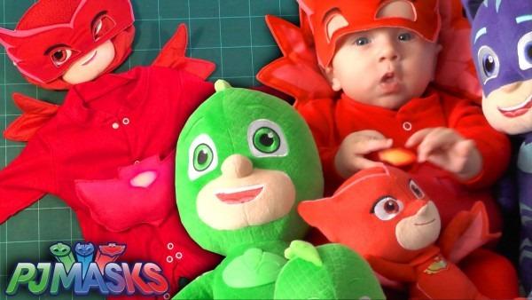 Pj Masks Baby ❤   ☠ Irl ❤   Toy Make
