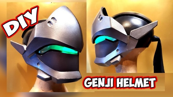 Genji Overwatch Helmet How To Diy