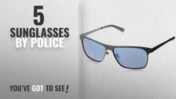 Top 10 Police Sunglasses [2018]  Police Mirrored Square Unisex