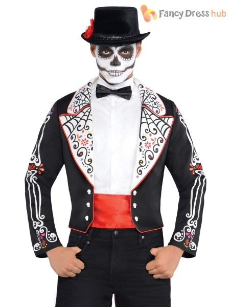36 Halloween Costume Mexican Skeleton, Ladies Day Of The Dead