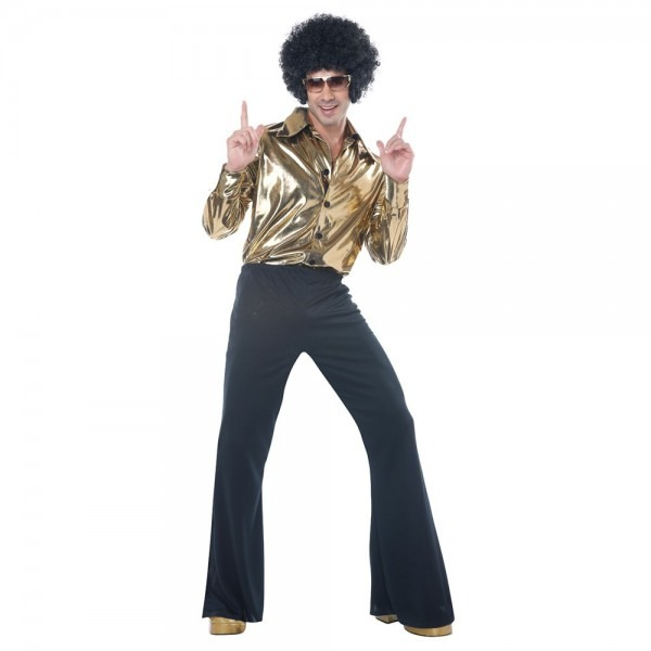 Shop Mens Plus Size Disco King Halloween Costume