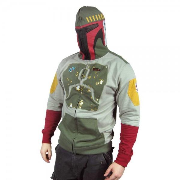 Mens Star Wars Boba Fett Costume Hoodie