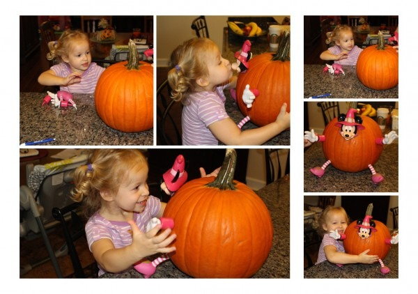 Minnie Mouse Pumpkin Push