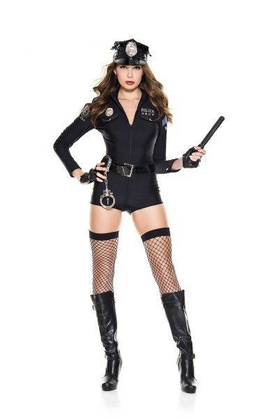 Adult Cop Woman Police Officer Costume