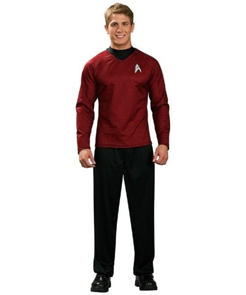 Adult Star Trek Movie Red Shirt Costume