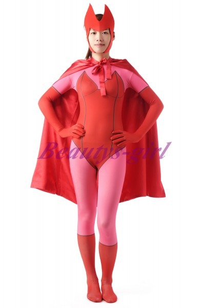 Ms Marvel Costume Captain Marvel Costume Zentai Lycra Spandex