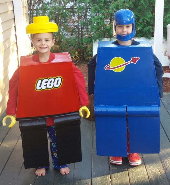 Lego Halloween Costumes That I Made For My Boys