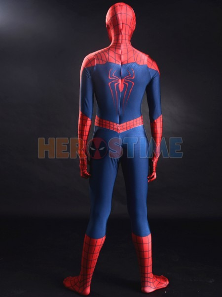 New Red And Blue The Amazing Spider Man 2 3d Printing Male
